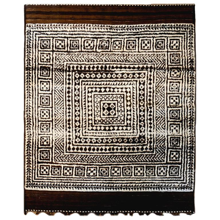 Incredible 19th Century Gabbeh Rug