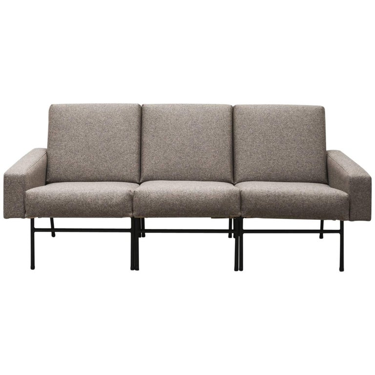 Pierre Guariche Three-Seat Sofa for Airborne, France, 1954 For Sale