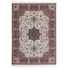 Fine Ala Baf Vintage Tabriz Persian Rug