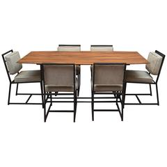 California Modern Dining Set by Peter Rooke-Ley