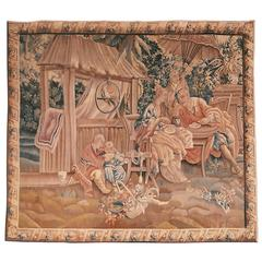 Mid-19th Century French Chinoiserie Tapestry