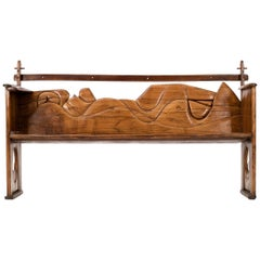 Jan De Swart Sculptural Bench
