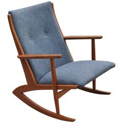 Holger Georg Jensen Model 97 Rocking Chair