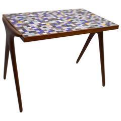 Kagan Dreyfuss Mosaic Tile Top Table