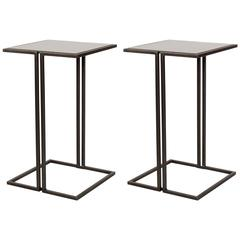 Pair of Nantes Side Tables by Bourgeois Boheme Atelier