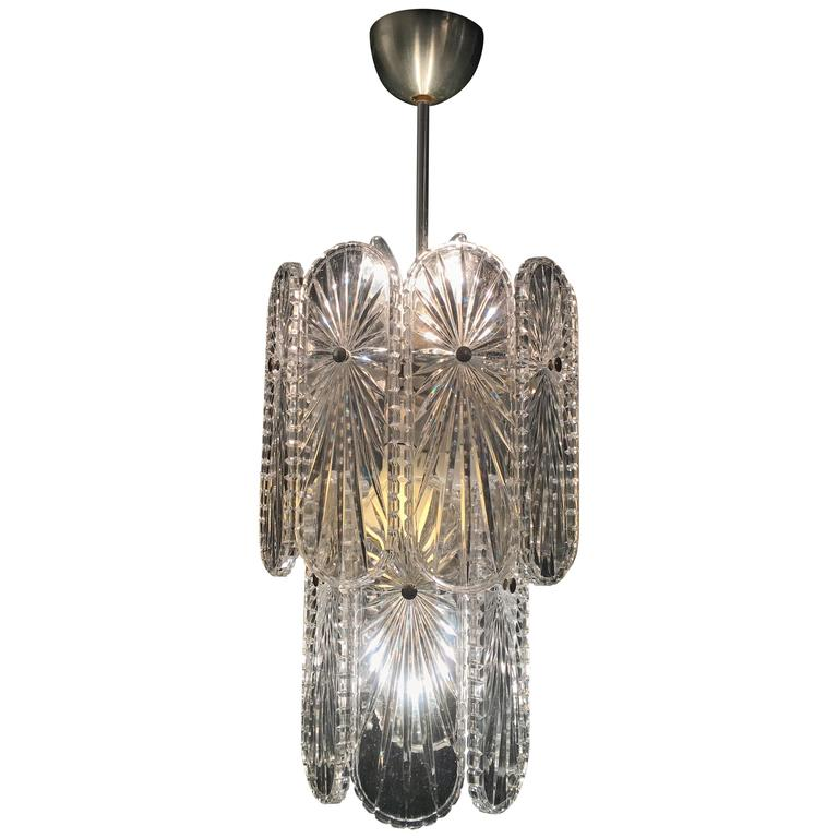 Italian Mid Century Chandelier 1960s For Sale At 1stdibs