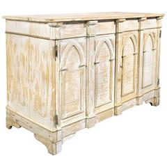 19th Century Gothic Revival Sideboard, circa 1800s, Italy