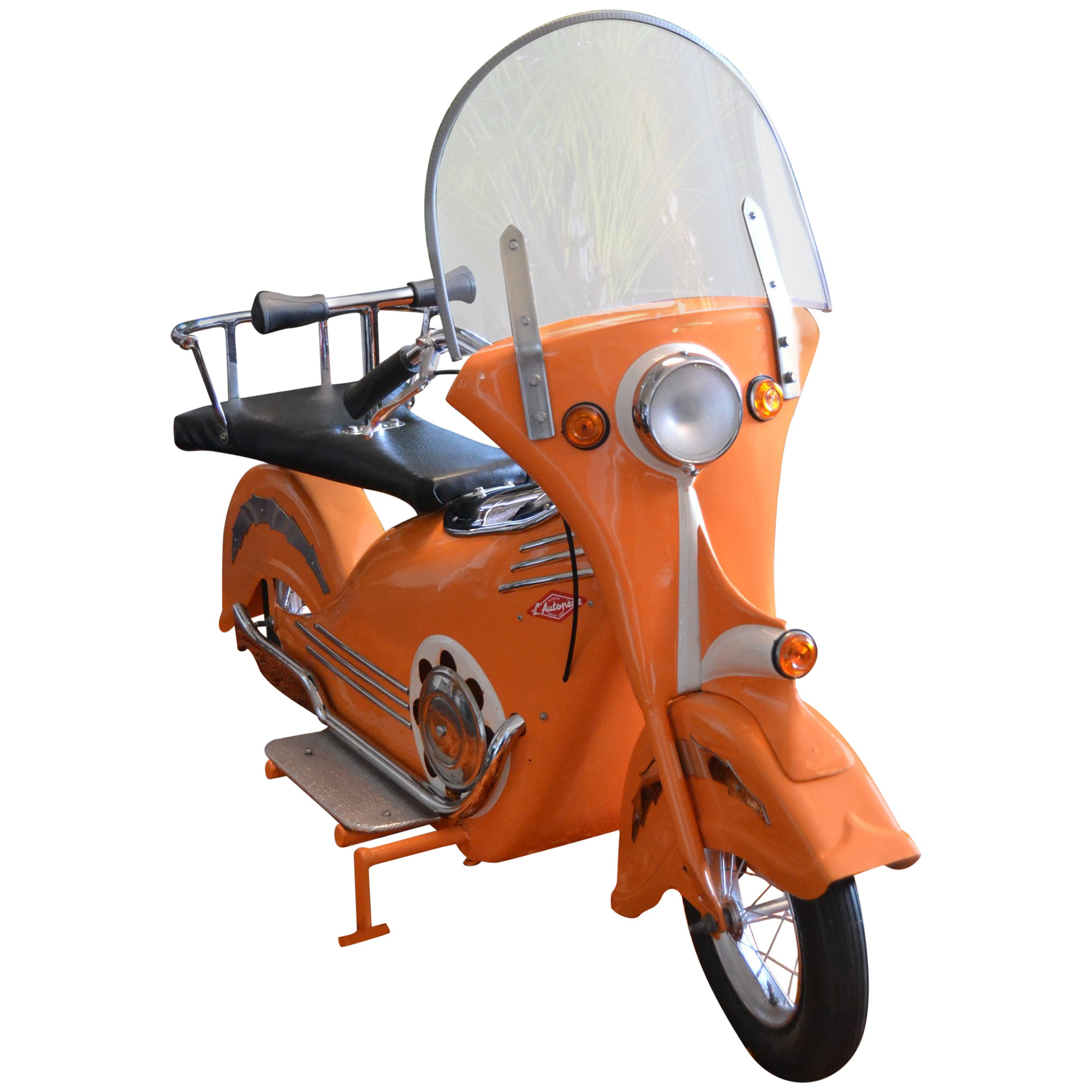 Metal Carousel Scooter By L Autopde Belgium 1940s For Sale At 1stdibs Tow Harness