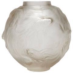 """""""Formose"""" Vase by René Lalique, circa 1930"""