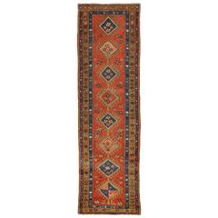Antique Persian Bakhshayesh Runner Rug