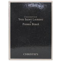 Complete Catalog Set Yves Saint Laurent and Pierre Bergé Auction at Christie's