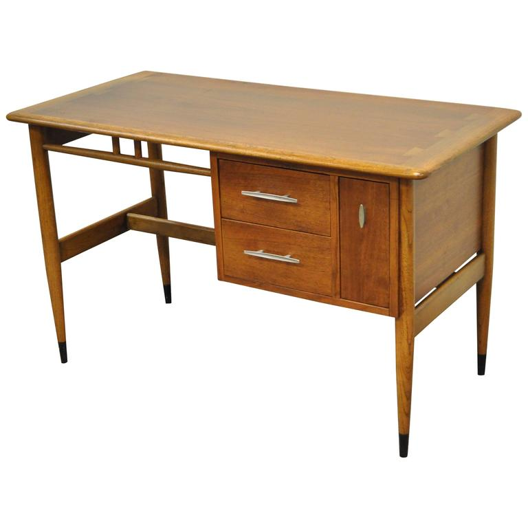Lane Altavista Acclaim Writing Desk Walnut Dovetail Top