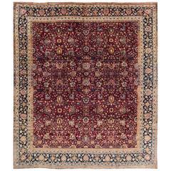 Simply Beautiful Antique Tabriz Rug