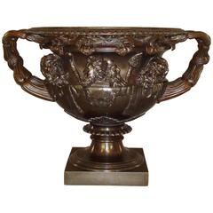 19th Century Grand Tour Bronze Warwick Vase