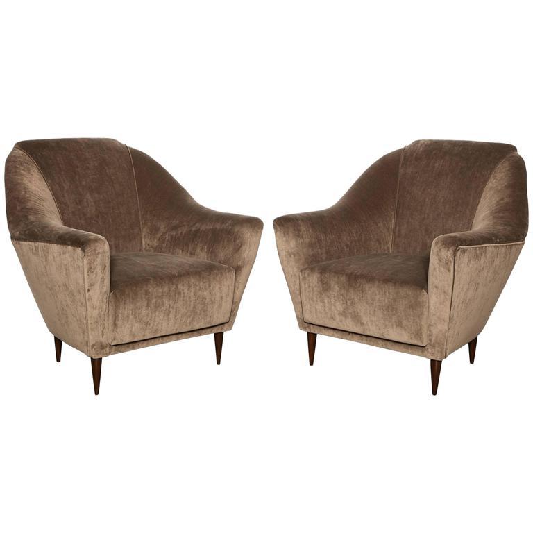 Ico Parisi Lounge Chairs