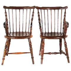 "Colonial Jamaica ""Windsor"" Chairs, circa 1840"
