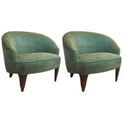 Fine Pair of Wormley for Dunbar Janus Chairs