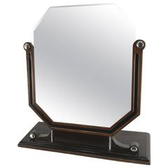Stylized Art Deco Dresser Mirror