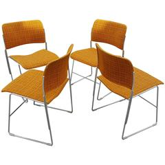 David Rowland Stacking Dining Chairs