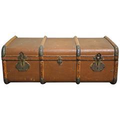 Antique Suitcase or Travel Trunk, 1930s