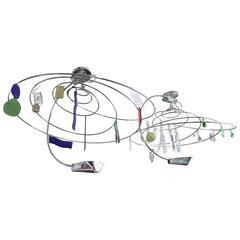 Ilione Spiral Chandelier by Artemide