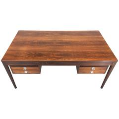 Finn Juhl Rosewood Diplomat Executive Desk for France and Son