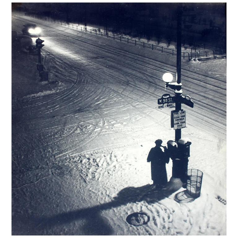 """Midnight Report"" Vintage New York City Photography"