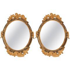 Pair of Italian Mirrors, circa 1750