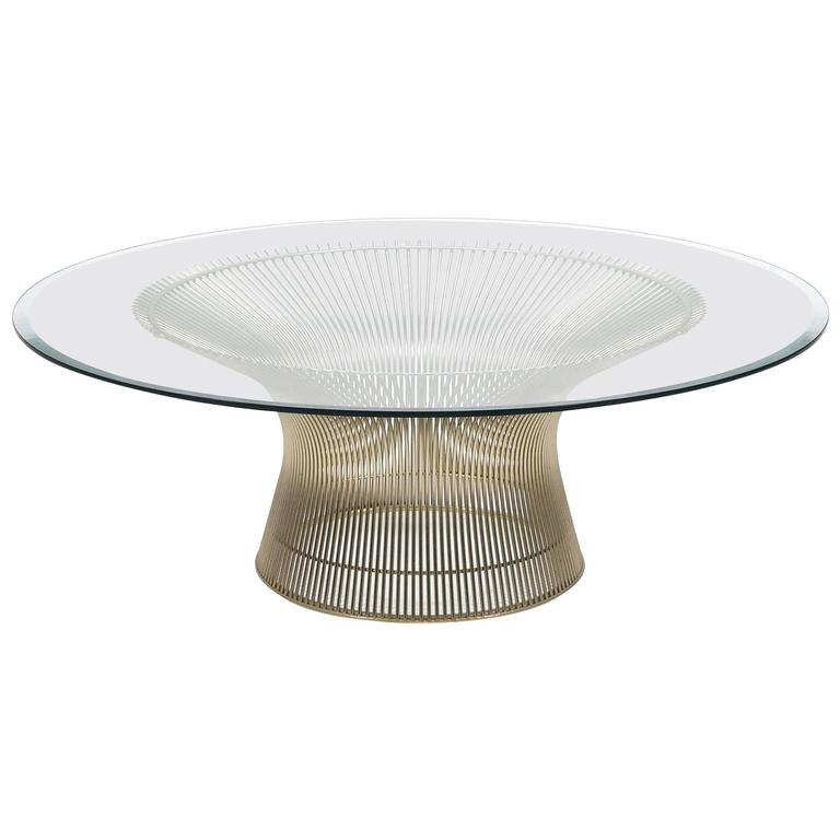 Warren Platner Coffee Table by Knoll For Sale