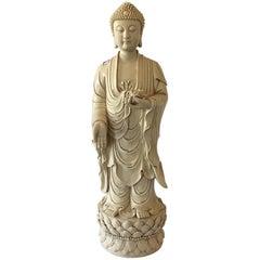 20th Century Blanc de Chine Buddha