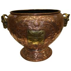 19th Century French Copper Urn