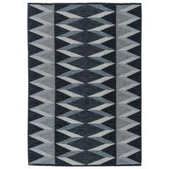 Swedish Flat-Weave Rug by Nordiska Kompaniest