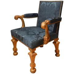 18th Century Gilt Armchair