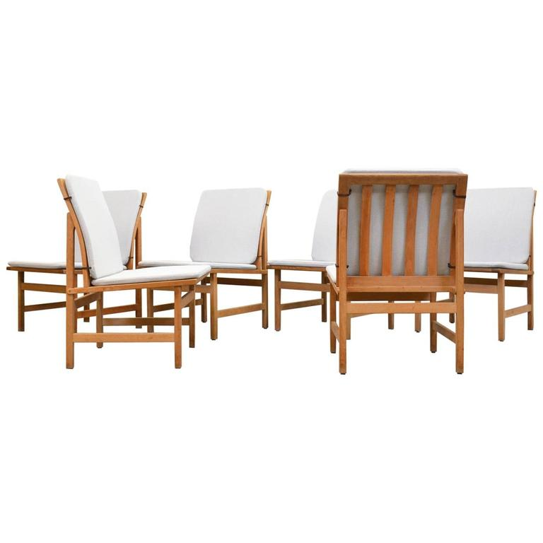 Dining Chairs Model 3232 Børge Mogensen