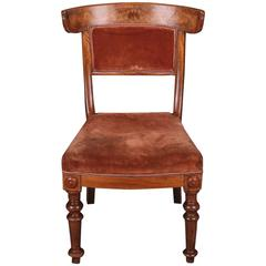 19th Century Biedermeier Curving Backrest Chair