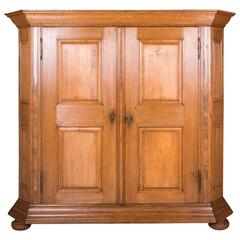 18th Century Baroque Oak Cupboard