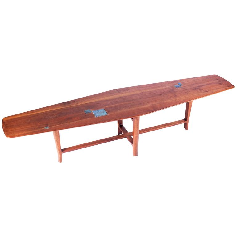 1db82e4a4c8b Dunbar Coffee Table with Tiffany Tiles by Edward Wormley For Sale at ...