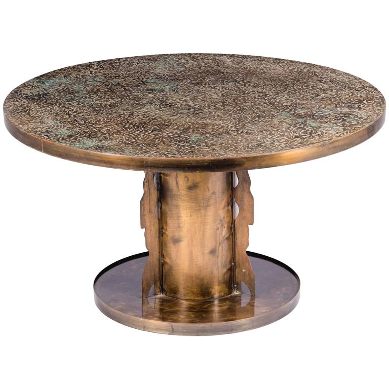 Philip and Kelvin LaVerne Etruscan Coffee Table