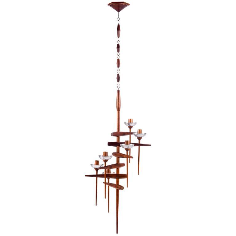 Beautiful Hanging Candelabrum by James Martin