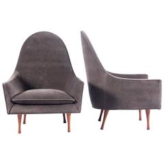 Pair of Lounge Chairs by Paul McCobb for Widdicomb