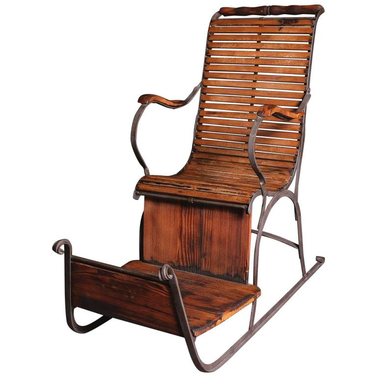 Early 20th Century Art Nouveau Seat Slide At 1stdibs