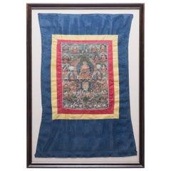 Tibetan Thangka of Sakyamuni