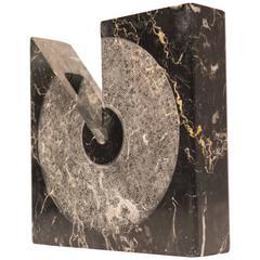 Sergio Asti Square Marble Vessel for Atelier International