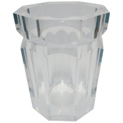 Lucite Champagne Wine Cooler or Ice Bucket