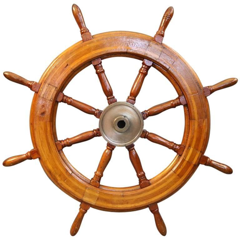 Authentic Ship's Wheel