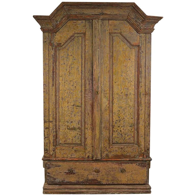 Swedish Baroque Cabinet 1