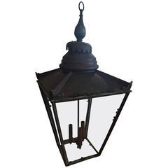 19th Century English Copper Lantern