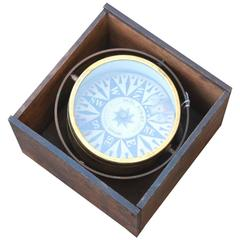 19th Century Boxed Compass