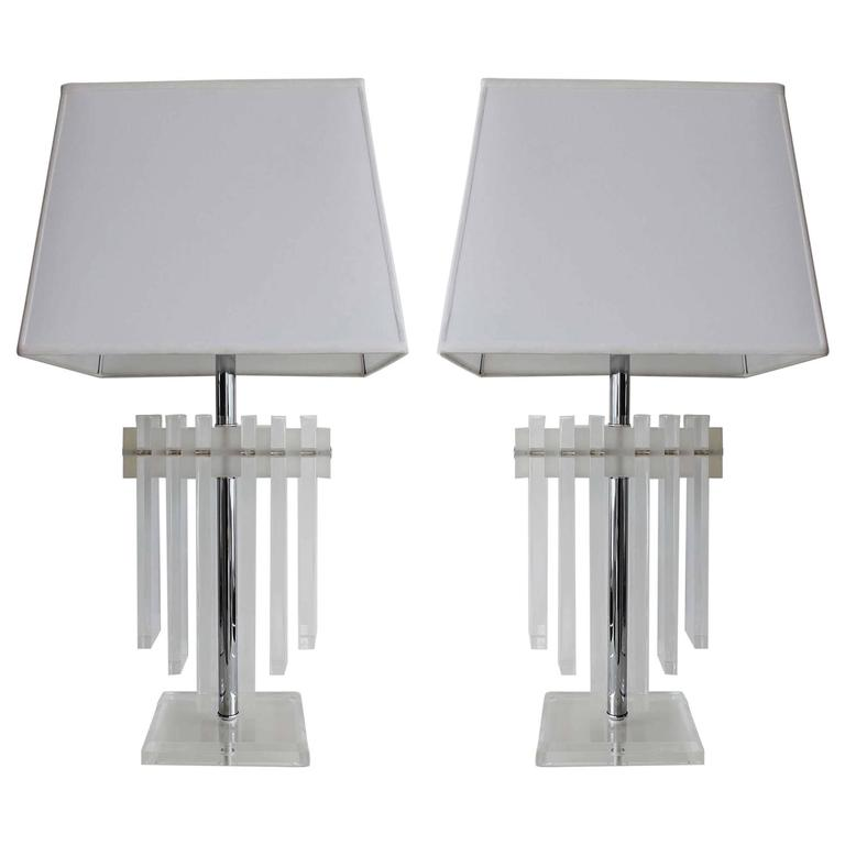 Pair of Charles Hollis Jones Lamps 1