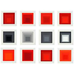 "Josef Albers ""Homage to the Square"" Suite of 12"
